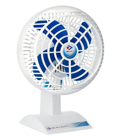 Amazon -Buy Bajaj Ultima PT01 14 Inch Table Fan (White) at Rs. 995 only