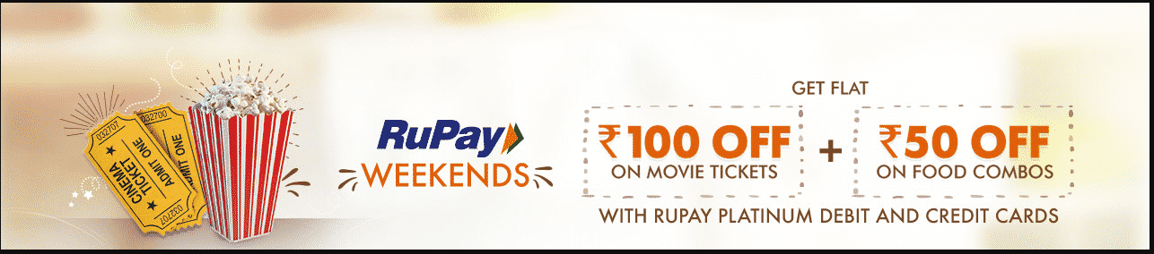 Bookmyshow Get Rs. 100 + 50 off on Movie Ticket Book, tricknshop