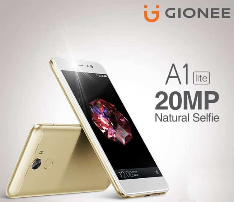 Gionee A1 Lite Price in India Buy Online, Specifications, Features Reviews