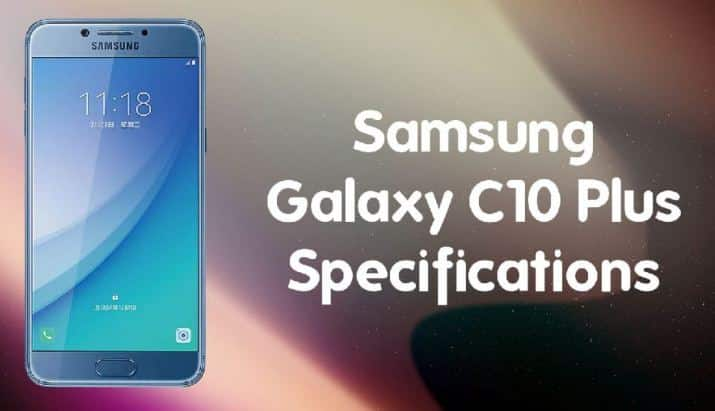 Samsung Galaxy C10 Price in India Buy Online, Specifications, Features Reviews
