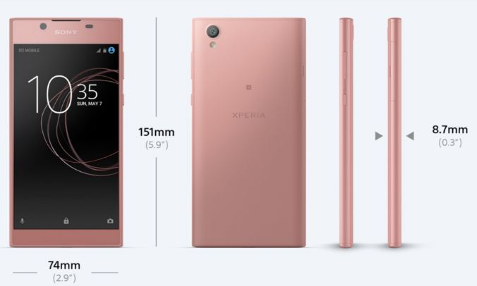 Sony Xperia L1 Price in India Buy Online, Specifications, Features Reviews