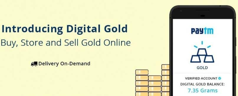 Paytm - Purchase Free Digital Gold worth Rs 11