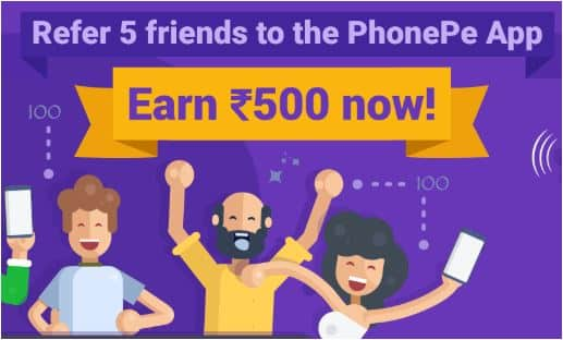 PhonePe Refer Earn Tricks