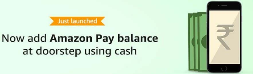 Amazon Doorstep Cash Load – Add Pay Balance and Get 20% Cashback