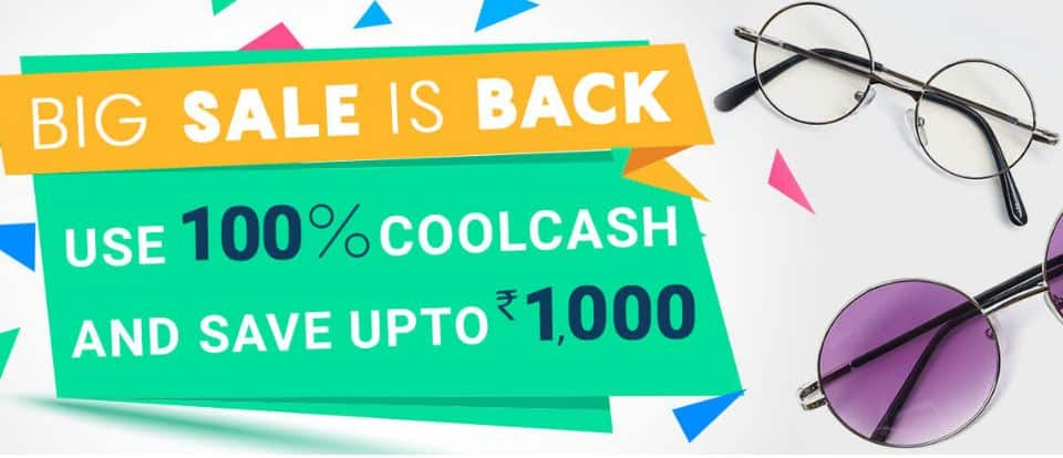 Coolwinks Offer - Get Rs.1000 Off on Your First Purchase + FREE Shipping.