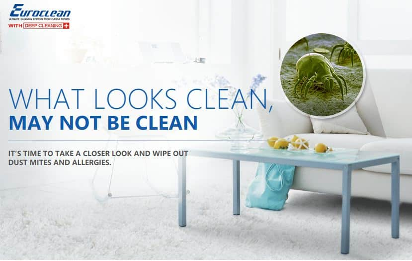 Free Demo - Get a Free Euroclean Vacuum Cleaner Demo at Home