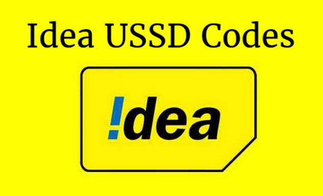 Idea USSD Codes for Prepaid Networks - All States