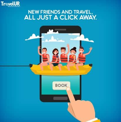 TravelUR – Get Rs 100 BookMyShow Voucher on Refer 3 Friends