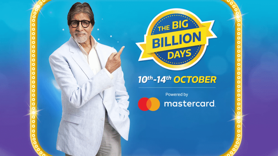 Flipkart Big Billion Day Sale Offers 10 October to 14 October 2018
