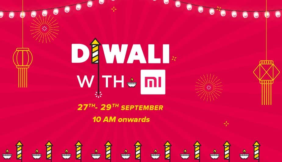 Mi Diwali Sale 2017 Offers- Get Mi 4a & Mi note 4 at Rs 1 and More