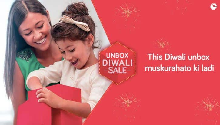 Snapdeal Unbox Diwali Sale offers deals