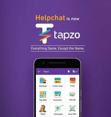 tapzo helpchat offers