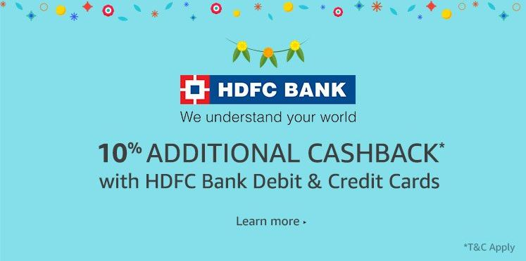 Amazon HDFC Offer
