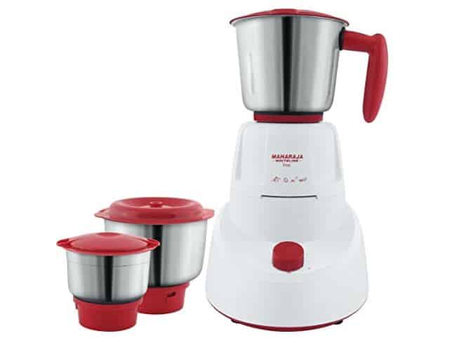 Deal of the day- Maharaja Whiteline MG Livo MX-Mixer Grinder with 3 Jars (Red)