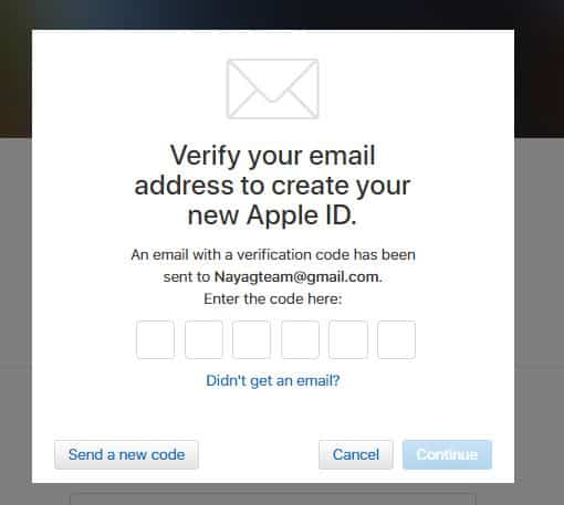 [Sign up Apple Id] -How To Sign up Apple Id Account Steps 12