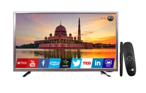 Daiwa LED Smart TV 80 cm (32 inch) HD Ready (D32C5SCR)