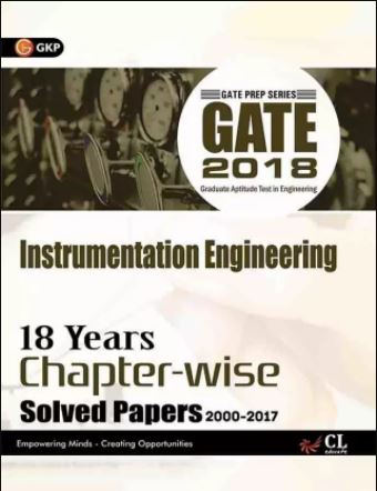 Flipkart GATE Books - Instrumentation Engineering 2018 -18 Years Chapter-wise Solved Papers 2000-2017 First Edition (English, Paperback, GK Publications)