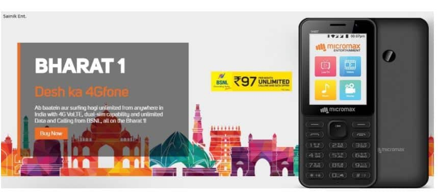 MICROMAX BHARAT 1 Price in India Buy Online, Launch date