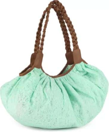 Wednesday Deals- People Sling Bag (Green) at 70% Off