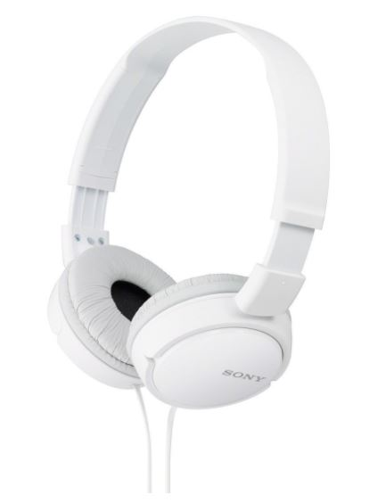 Amazon Tuesday Deal- Flat 53% on Sony MDR-ZX110A On-Ear Stereo Headphones (White)