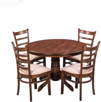 Flipkart- 49% off on RoyalOak COCO Solid Wood 4 Seater Dining Set