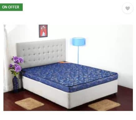 Flipkart- Centuary Mattresses Lotus 4 inch Queen Coir Mattress