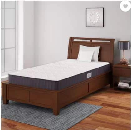 Flipkart-Save 45% on Siesta 7 inch Single Bonnell Spring Mattress (Vacuum Packed)