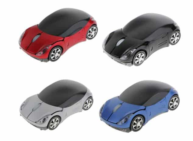 Gadget Deals- Save 65% on Car-Shaped USB Wired Optical Mouse