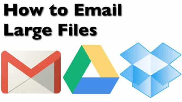 How To Send Large Files by Email