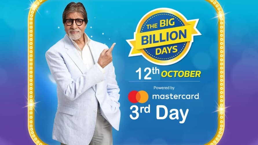 3 dayn-Flipkart-Big-Billion-Day-Sale-Offers-10-October-to-14-October-2018
