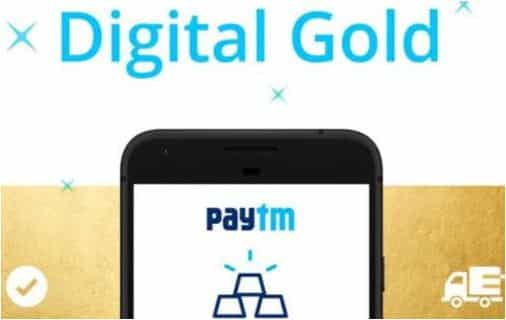 Paytm – Get Free Digital Gold worth Rs 40