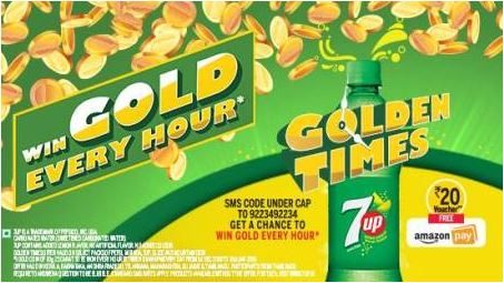 7up Amazon Offer Trick- Get Free Rs.20 Amazon Voucher On Each Purchase