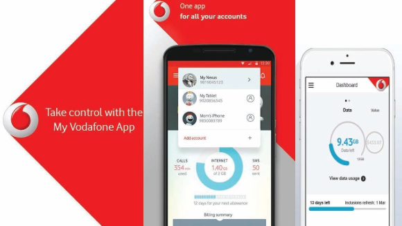 Download Vodafone App for Your Android
