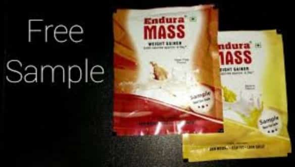 Endura Mass Free Sample 2020