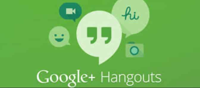 Make a phone call with Hangouts