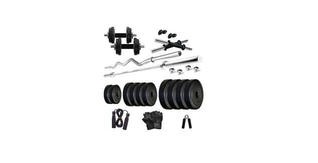 Flipkart- Buy KRX PVC 40 KG Home Gym Combo at Rs 3199 only