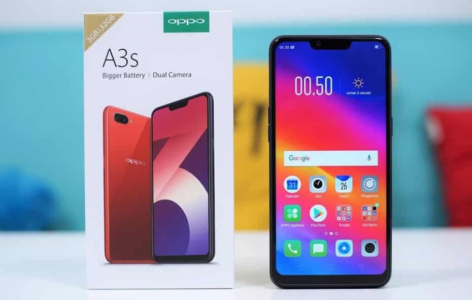 OPPO A3S Price in India Buy online, Specification, Features, Launched Date, Expected Price